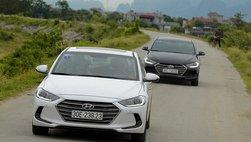 Giá lăn bánh xe Hyundai Elantra 2019: Rẻ nhất phân khúc sedan hạng C