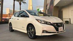 Nissan Leaf e + mới với phạm vi hoạt động 385 km xuất hiện tại triển lãm CES 2019
