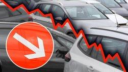 Doanh số xe Trung Quốc giảm trong tháng 12