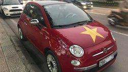 Xe châu Âu Fiat 500 2009 rao bán hơn 400 triệu, ngang với Toyota Wigo
