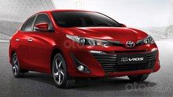 Toyota Vios bổ sung biến thể mới với hộp số CVT có giá 326 triệu đồng