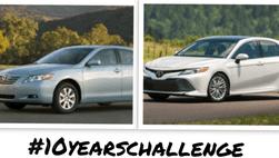 Bắt trend #10yearschallenge, thiết kế xe hơi đã thay đổi như thế nào sau 10 năm?