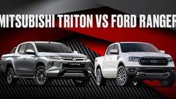Xem nhanh Mitsubishi Triton và Ford Ranger tại Việt Nam