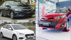 Giá xe Toyota Vios, Accent, City: 'Kẻ tăng, người giảm' trước Tết nguyên đán