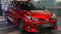 Toyota Vios 2019 vừa ra mắt Malaysia, giá từ 433 triệu đồng, đẹp long lanh