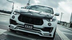 Maserati Levante tăng chất chơi bằng bản độ bodykit Zero Design