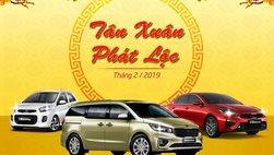 Chào năm mới, Kia Việt Nam khuyến mại cho khách hàng mua xe trong tháng 2/2019