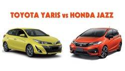 Toyota Yaris lấy lại vị thế trước Honda Jazz trong tháng 1/2019