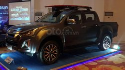 Isuzu D-Max 2019 bản Malaysia trang bị động cơ dầu diesel mới