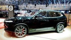 Soi chi tiết VinFast LUX V8 trước thềm khai mạc Geneva 2019