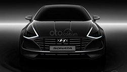 Hyundai Sonata 2020 lộ diện với thiết kế coupe 4 cửa