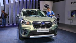 [Geneva 2019] Subaru Forester eBoxer đầm hơn, rộng hơn và sạch hơn trước