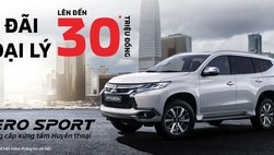 Mitsubishi Pajero Sport Gasoline 4x2 AT giảm 30 triệu đồng tại Việt Nam