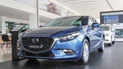 Phân khúc sedan hạng C tháng 3 tiếp tục là sân chơi của Mazda 3