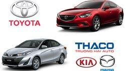 Thị phần ô tô tháng 2/2019, Trường Hải tăng trưởng, Toyota hụt hơi