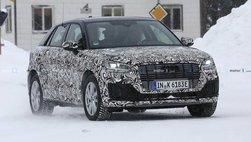 Audi Q2 E-Tron chạy điện hoàn toàn mới chạy thử trong thời tiết giá rét