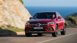 Mercedes-Benz GLC 2020 Coupe đổi dáng, nâng cấp động cơ