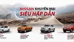 Nissan Việt Nam khuyến mại đồng loạt cao nhất 30 triệu đồng