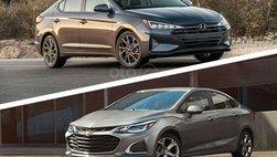 So sánh Chevrolet Cruze và Hyundai Elantra 2019