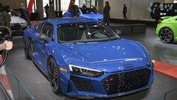 [New York 2019] Cận cảnh siêu xe Audi R8 2020 mạnh 602 mã lực