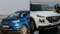 So sánh xe Hyundai Venue 2020 và Ford EcoSport 2019