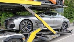 Tóm gọn BMW 8 Series Gran Coupe trên đường với diện mạo nổi bần bật