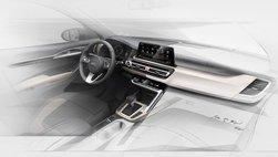 Kia úp mở về mẫu SUV cỡ nhỏ mới bằng loạt ảnh nội thất