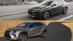 So sánh Lexus UX và Lexus NX: Crossover hạng sang nào dành cho bạn?