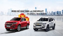 Chevrolet Corolado và Trailblazer tiếp tục duy trì ưu đãi 100 triệu trong tháng 6