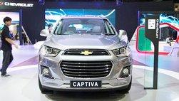 Thông số kỹ thuật xe Chevrolet Captiva