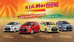 Phiên bản Kia Morning số tự động mới giá 339 triệu đồng ra mắt