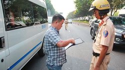 Không có bằng lái xe phạt bao nhiêu? Có bị tạm giữ phương tiện?