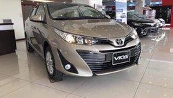 Giá lăn bánh xe Toyota Vios 2019 sau khi bất ngờ hạ giá niêm yết tại Việt Nam