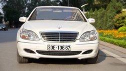 Mercedes-Benz S-Class 2003 'giữ dáng' kỹ như hoa hậu vẫn mất giá sau 16 năm sử dụng