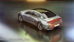 Hyundai Grandeur Facelift 2020 lộ ảnh trước khi ra mắt