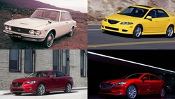 Khám phá những mẫu sedan hạng D nổi tiếng của Mazda