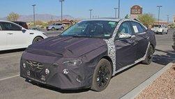 Hyundai Elantra 2020 xuất hiện trên đường thử, dự kiến ra mắt cuối năm
