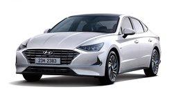 Hyundai Sonata Hybrid 2020 sở hữu trần xe hấp thụ năng lượng mặt trời giúp tiết kiệm nhiên liệu