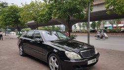 Mercedes-Benz S500 2005 giá 399 triệu, chủ xe bảo đảm 'máy còn chất'