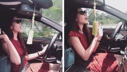 Buông hai tay khi lái xe ô tô có bị phạt?