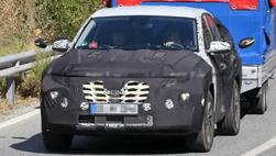 Hyundai Tucson thế hệ mới tiếp tục lộ diện hình ảnh chạy thử tại châu Âu
