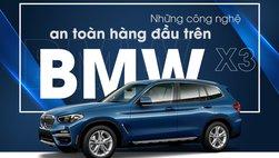 BMW X3 2019 mới ra mắt sở hữu công nghệ an toàn hấp dẫn gì?