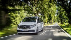 Mercedes EQV chạy điện đầu tiên sắp ra mắt tại Triển lãm Frankfurt 2019