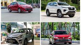 Tư vấn xe Toyota: Các phiên bản đáng mua nhất tại Việt Nam kèm giá bán chính thức