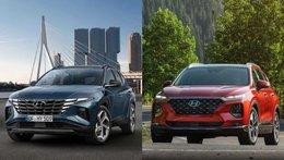 'Gà cùng nhà' nhưng nên chọn Hyundai Santa Fe hay Hyundai Tucson