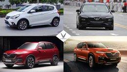Giá lăn bánh của 4 mẫu xe VinFast: Fadil, Lux A2.0, Lux SA2.0 và President