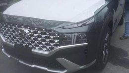 Lộ ảnh 'trần trụi' nội, ngoại thất Hyundai Santa Fe 2021 sắp bán ở Việt Nam, giá dự kiến cao