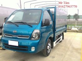 Bán Kia K200, K250 động cơ Hyundai, tải trọng từ 1.9 tấn, hỗ trợ trả góp lãi suất thấp nhất Hà Nội