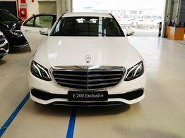 Mercedes E200 Exclusive model 2020 sang trọng - đẳng cấp. Nhiều nâng cấp đáng giá nhất