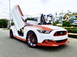 Mustang 2.3 Convertible nhập Mỹ 2016, mui xếp hàng hiếm, 5 chỗ, màu trắng